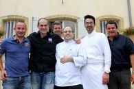 Finale des Rencontres Gourmandes à Vaudieu: Philippe Zemmour chef de l'année!